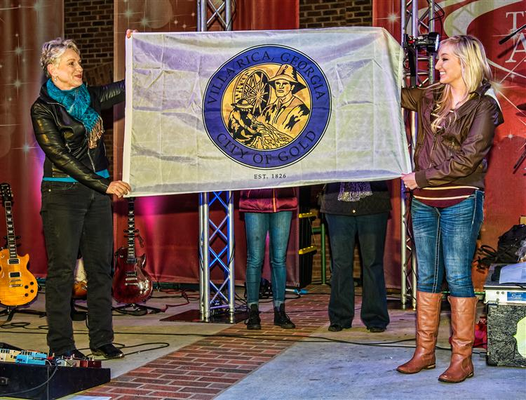 Unveiling of the Villa Rica City Flag